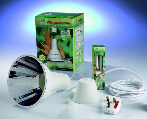 Pflanzenleuchte Lu15 15 mit Watt Pflanzenlicht Indoor Bio Green -L15- ANGEBOT