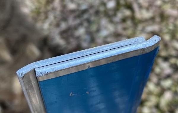 Verschlussleiste Nr.2 für Wurzelsperre in 70cm Höhe