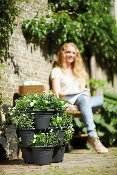 Elho Pflanzgefäß Küchenkräuter vertical Garden TOP IDEE bei uns immer als SET
